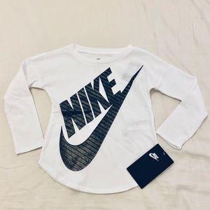 NWT Nike Long-Sleeve White Shirt (2)
